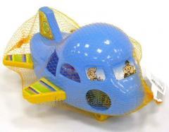 Упаковка игрушек-сетка-гибкая рулонная упаковка из