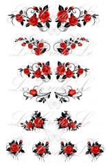 Slider - design for nails No. 401