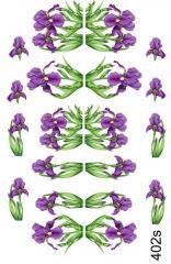 Slider - design for nails No. 402