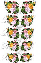 Slider - design for nails No. 410