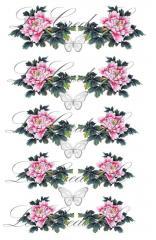 Slider - design for nails No. 411