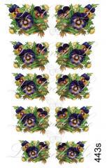 Slider - design for nails No. 443