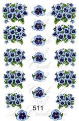 Slider - design for nails No. 511