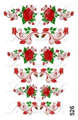 Slider - design for nails No. 526
