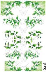 Slider - design for nails No. 528