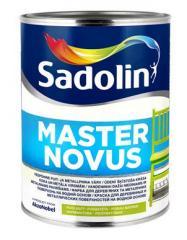 Алкидная краска на водной основе MASTER NOVUS