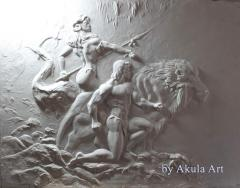 Picture bas-relief