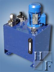 Hydrostation of a press
