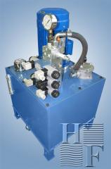 Гидростанция термопластавтомата