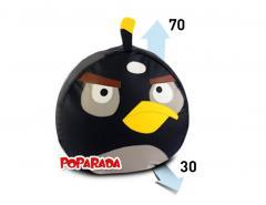 Черный пуфик AngryBirds.