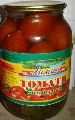 Tomatoes are tinned, tomatoes tinned, Ukraine