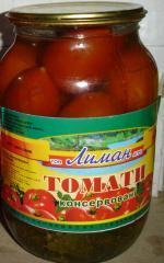 Томаты консервированные, помидоры консервированные, Украина