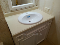 Products from an artificial stone, quartz