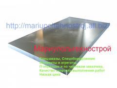 Steel sheet 12kh18n10t. Steel sheet special steel.