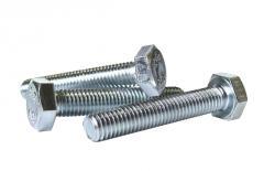 Bolt galvanized M10X50