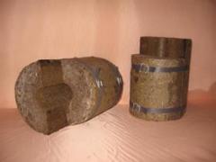 Slabby and skorlupny thermal insulation