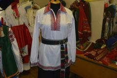 Сорочка мужская, ткань сорочечная, отделка