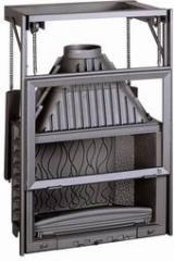 Топка каминная Invicta 800 Grande Vision + подъем двери Ref. 6886-44