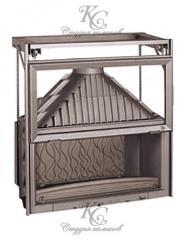 Топка каминная Invicta 1100 Grande Vision + подъем двери Ref. 6811-44