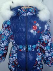 Комбинезон зимний для девочки