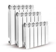 Radiators of heating and accessories