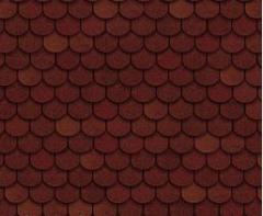 Tile bituminous Shinglas of the Tango red