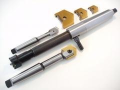 Пластины перовые сменные из быстрорежущей стали