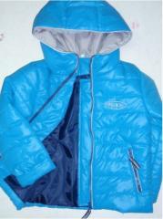 Детская куртка для мальчика наполнитель синтепон