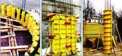 Опалубка модульная для монолитного домостроения