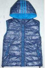 Vest children's from the producer