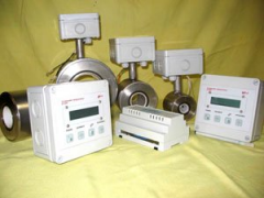 Flowmeter - the liquid counter electromagnetic
