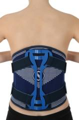 Belt, the Orthosis for a waist and the lower area