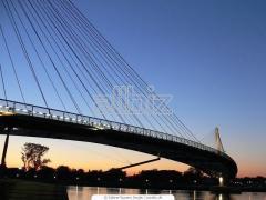 Bridges and bridge structures for highways
