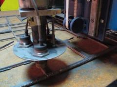 Machine of plasma cutting of metal
