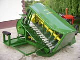The combine for cleaning of curran