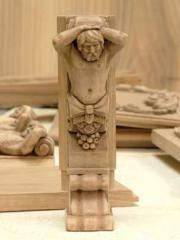 Products are wooden carved, Products wooden wooden