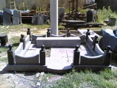 Granite fencings