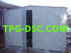 Garage metal folding M5-21