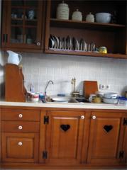 Шкафы кухонные, Шкафы кухонные из дерева, Шкафы