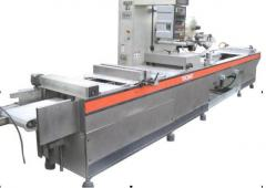 The thermocreated vacuum and packaging lines,