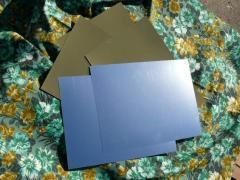 Подложка золото-серебро 300*300 мм