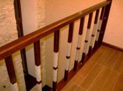 Hand-rail for ladders, Hand-rail for ladders under