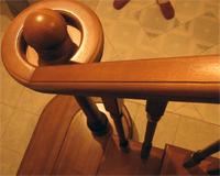 Handrail wooden, the Handrail wooden Kiev, the