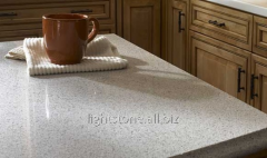 Quartz table-tops