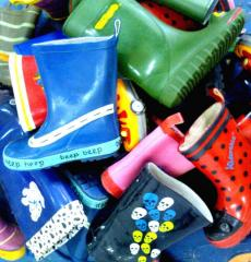 Footwear the nursery rubber Sekond-hend from England