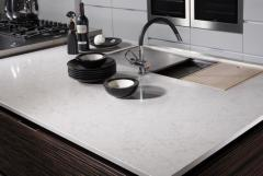 Table-top kitchen of quartzite