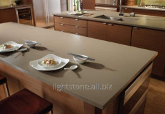Kitchen table-top from artificial quartz