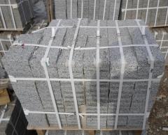 Granite tile pokostovsky gray