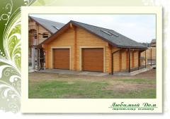 Canopies for car from tree, garages