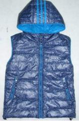 Warm vest children's